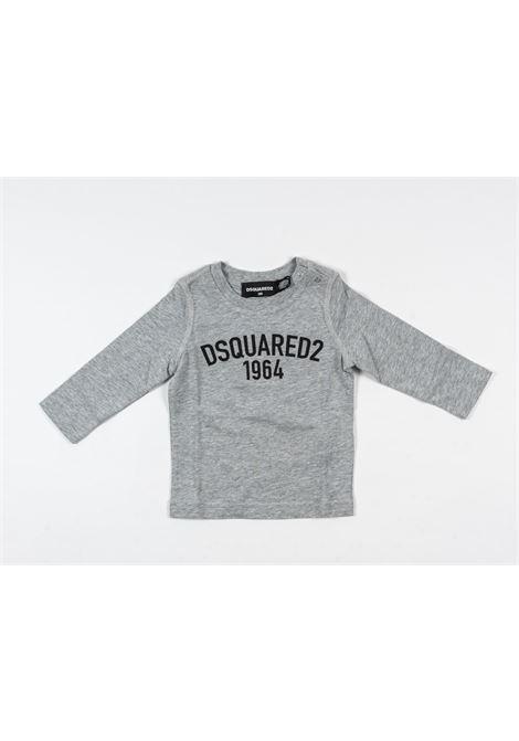 DSQUARED2 | t-shirt long sleeve | DSQ410GRIGIO