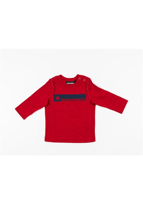 DSQUARED2 | t-shirt long sleeve | DSQ413ROSSO