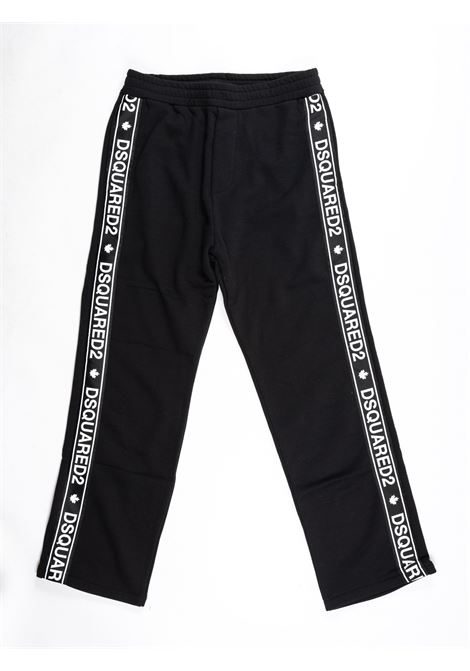 DSQUARED2 | plushy trousers | DSQ428NERO