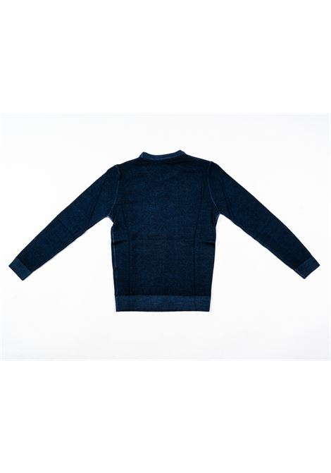 ENTRE AMIS | wool sweater | ENT02BLU