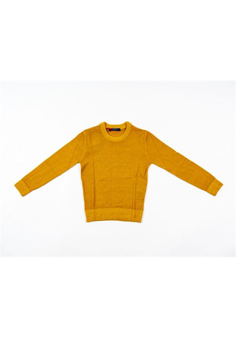 ENTRE AMIS | wool sweater | ENT02GIALLO