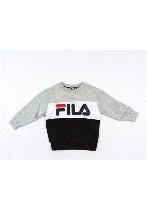 FILA | sweatshirt | FIL10GRIGIO NERO