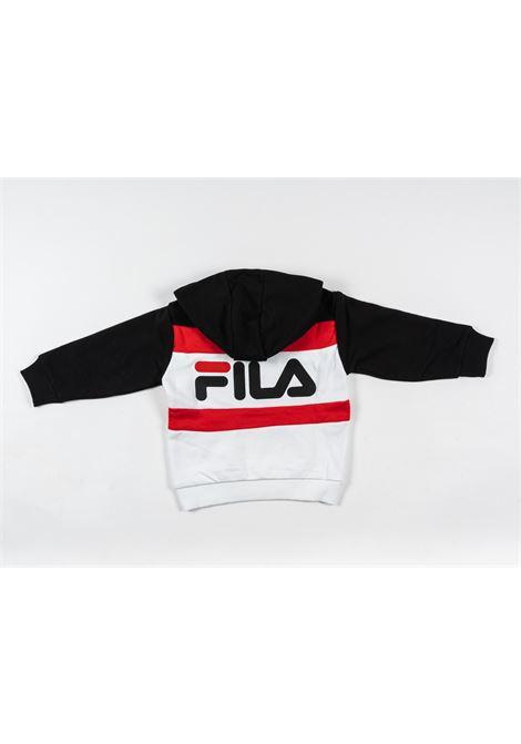FILA | sweatshirt | FIL11NERO B.CO ROSSO