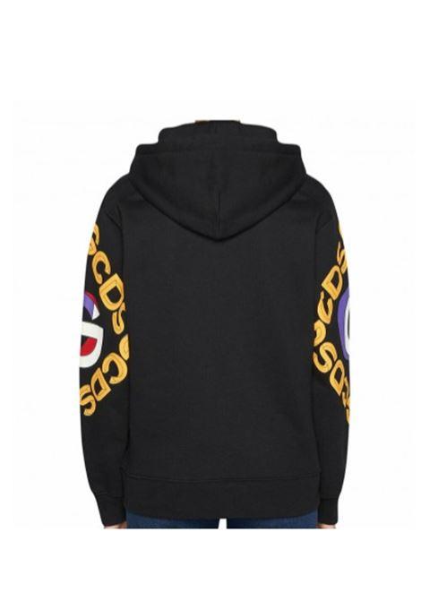 GCDS | sweatshirt | GCD020120NERO