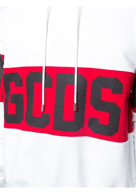 GCDS | sweatshirt | GCD021002BIANCO ROSSO