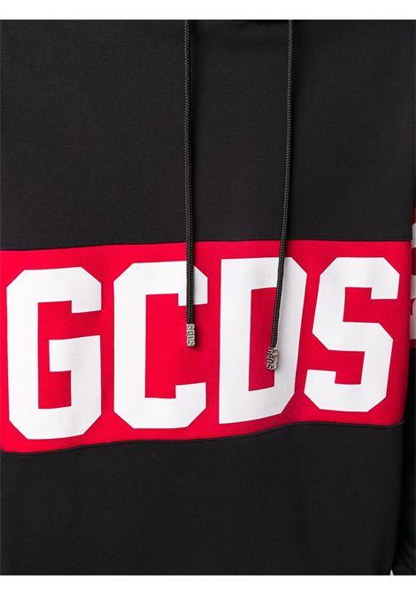 GCDS | sweatshirt | GCD021002NERO ROSSO