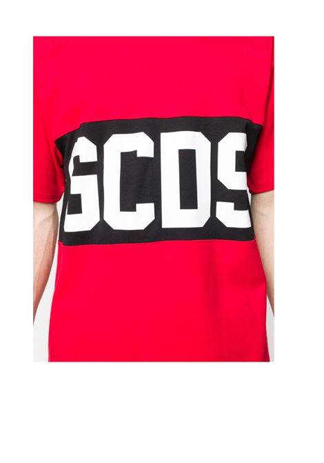 GCDS | T-shirt | GCD021011ROSSO NERO