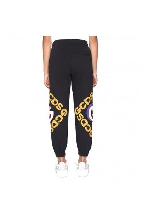 GCDS | plushy trousers | GCD030100NERO