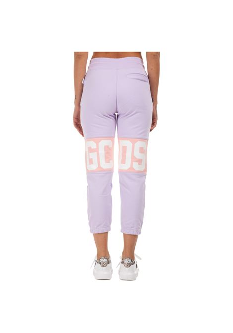 GCDS | plushy trousers | GCD031001LILLA