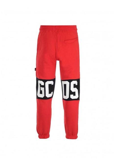 GCDS | plushy trousers | GCD031001ROSSO