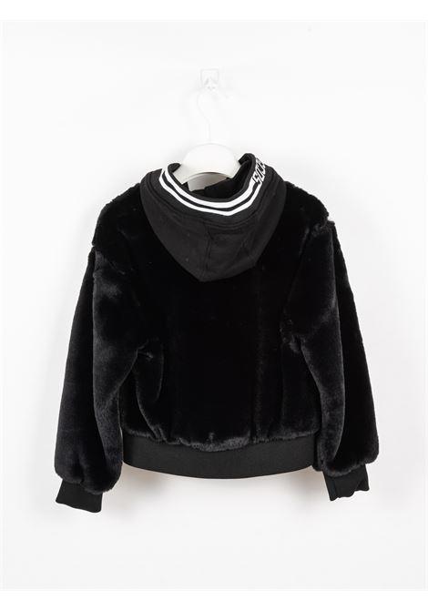 GCDS | jacket | GCD100NERO
