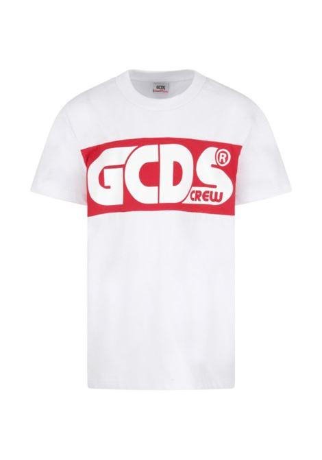 GCDS | T-shirt | GCD114BIANCA