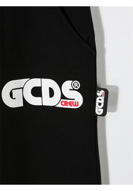 GCDS | plushy trousers | GCD122NERO
