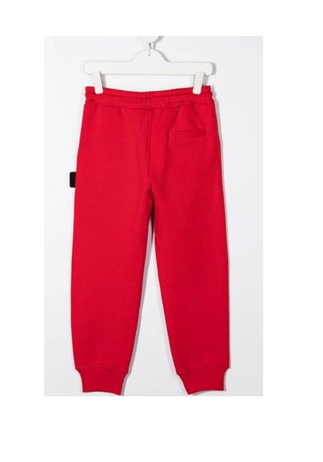 Pantalone GCDS GCDS | Pantalone felpa | GCD123ROSSO