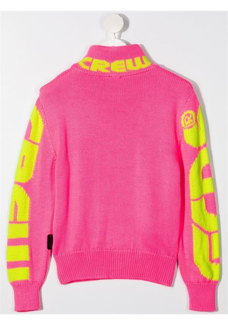 GCDS | wool sweater | GCD142FUXIA FLUO