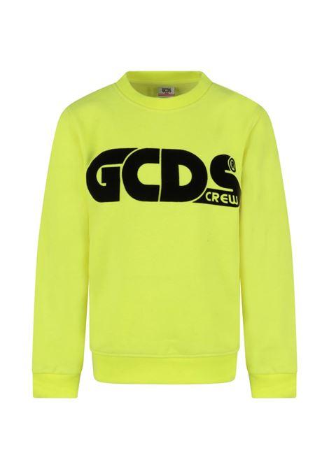 GCDS | sweatshirt | GCD144GIALLO FLUO