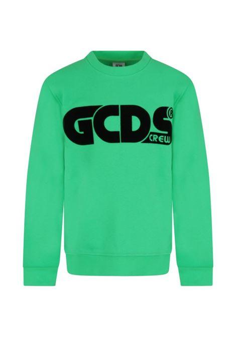 FELPA GCDS GCDS | Felpa | GCD144VERDE FLUO