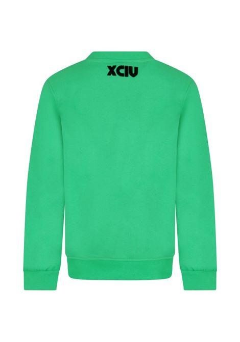 GCDS | sweatshirt | GCD144VERDE FLUO