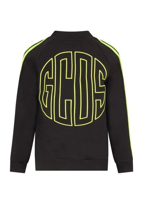 GCDS | sweatshirt | GCD146NERO FLUO