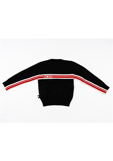 GCDS | wool sweater | GCD65NERO