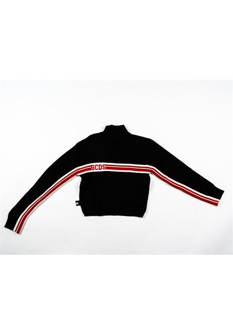 GCDS | wool sweater | GCD74NERO