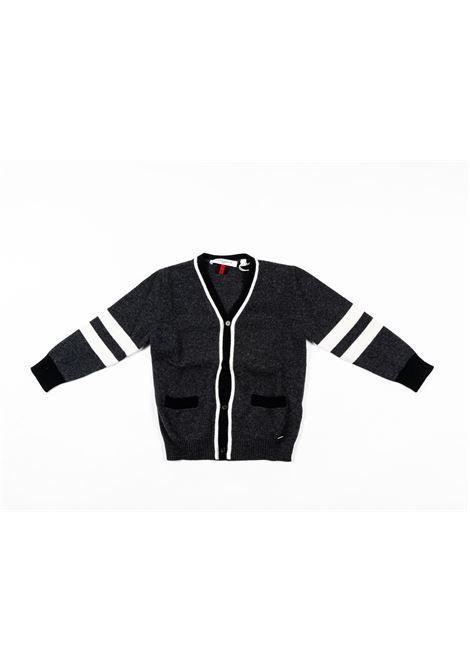 Cardigan lana Givenchy GIVENCHY | Maglia | GIV65GRIGIO SCURO
