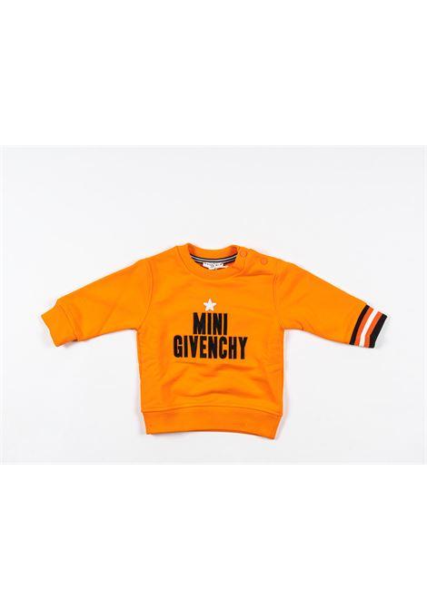 Felpa Givenchy GIVENCHY | Felpa | GIV75ARANCIO
