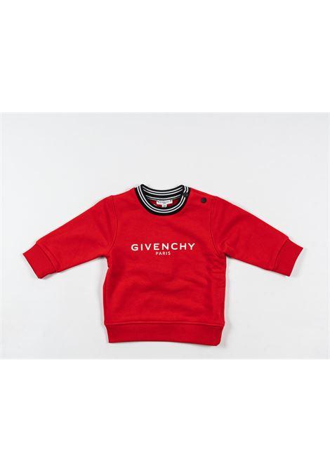 Felpa Givenchy GIVENCHY | Felpa | GIV84ROSSO