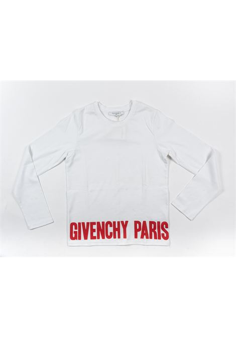GIVENCHY | t-shirt long sleeve | GIV98BIANCO