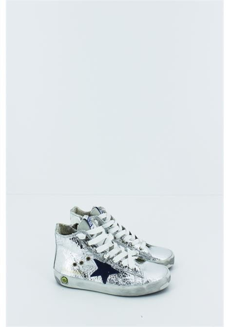 GOLDEN GOOSE | Sneakers | GOLDEN005ARGENTO-BLU