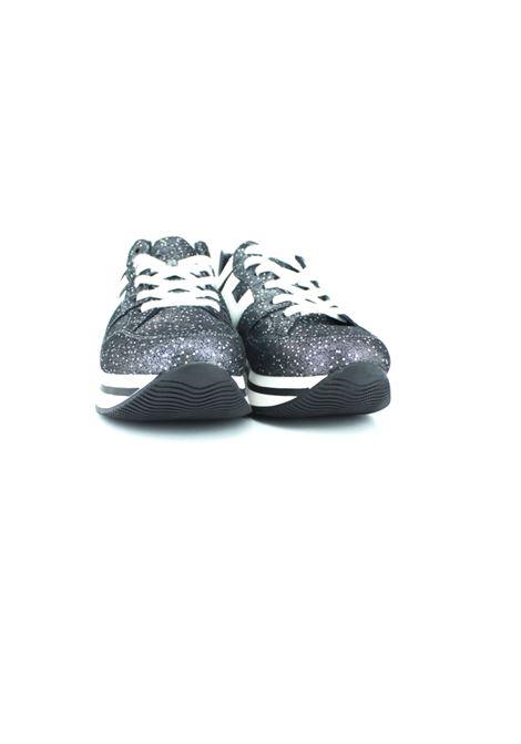 HOGAN   Sneakers   HXC2220T548 22GRIGIA GLITTER