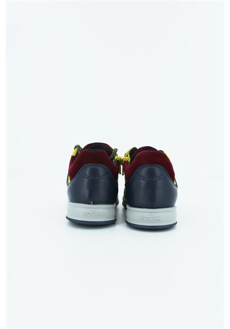 HOGAN | Sneakers | HXT0920I4608V 36GIALLA-BORDEAUX-BLU