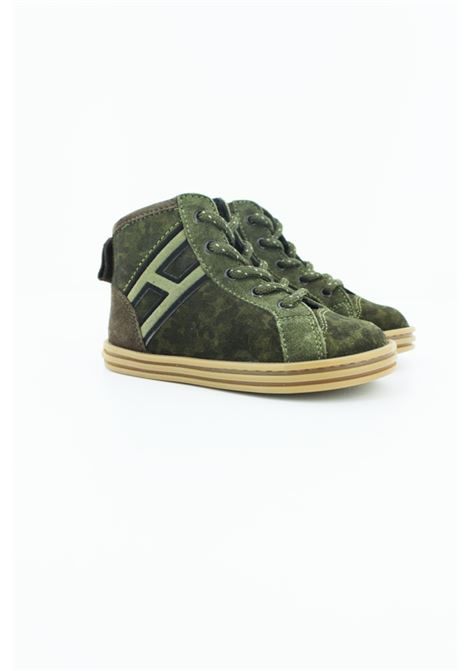 Sneakers Hogan HOGAN | Sneakers | HXT1410Z450H 42VERDE MILITARE
