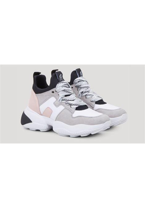 HOGAN | Sneakers | HXW5250CH20NBI0PQ2GRIGIA-ROSA