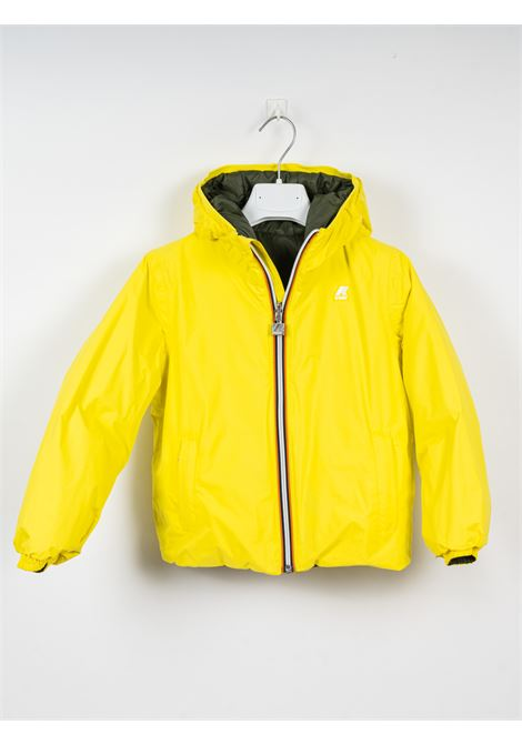K-WAY | jacket | KWAY19VERDE GIALLO