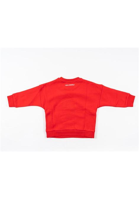 KARL LAGERFELD | sweatshirt | KAR24ROSSO