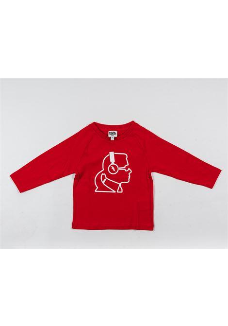 KARL LAGERFELD | t-shirt long sleeve | KAR28ROSSO