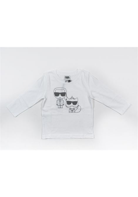 KARL LAGERFELD | t-shirt long sleeve | KAR29BIANCO