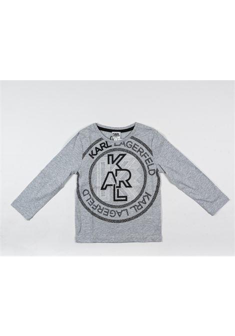 KARL LAGERFELD | t-shirt long sleeve | KAR30GRIGIO