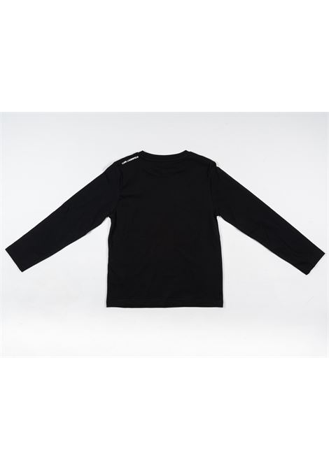 KARL LAGERFELD | t-shirt long sleeve | KAR31NERO