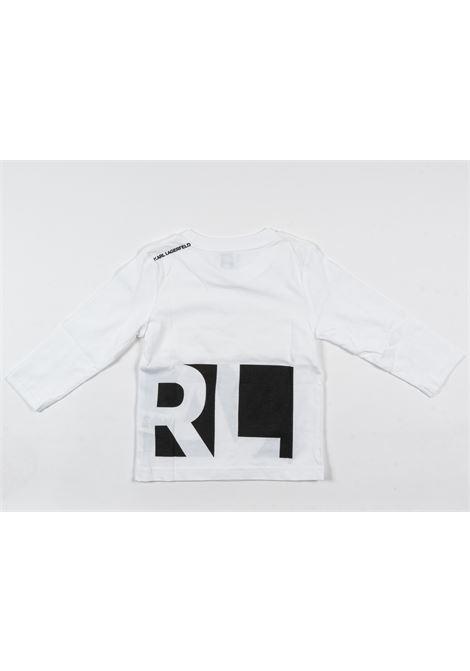 KARL LAGERFELD | t-shirt long sleeve | KAR32BIANCO