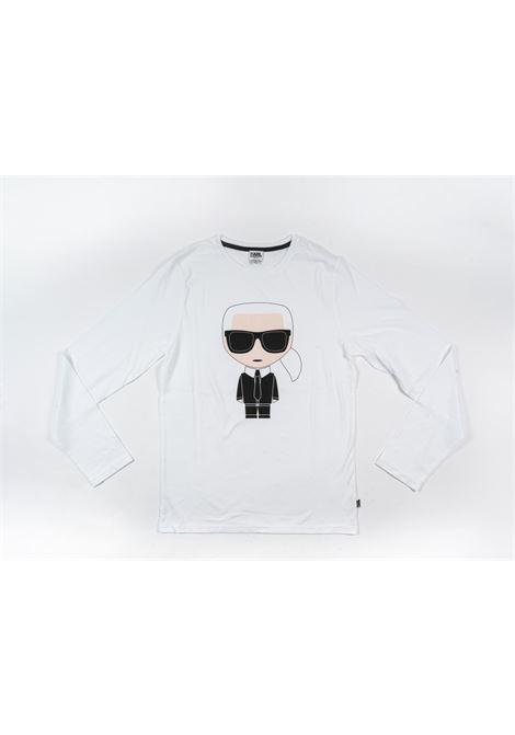 KARL LAGERFELD | t-shirt long sleeve | KAR33BIANCO