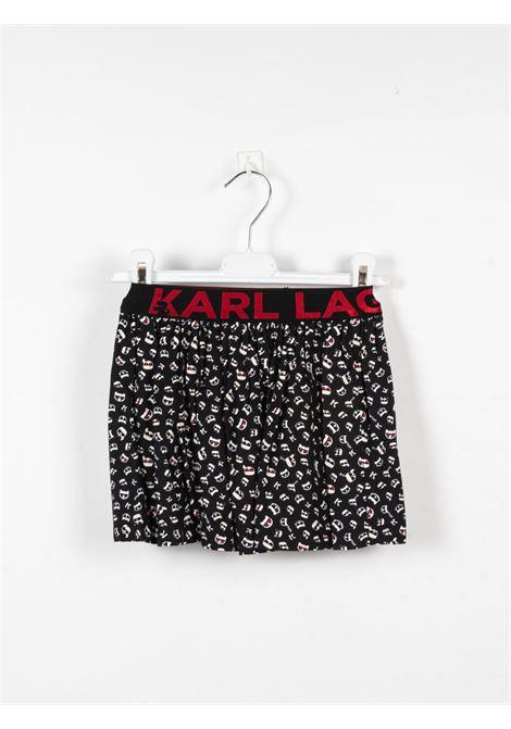 KARL LAGERFELD | skirt | KAR52NERO FANTASIA