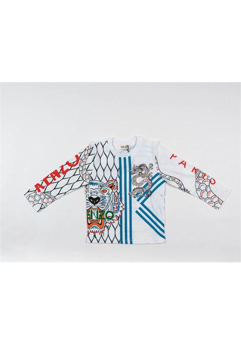 T-shirt Kenzo KENZO | T-shirt m/l | KEN78BIANCO FANTASIA