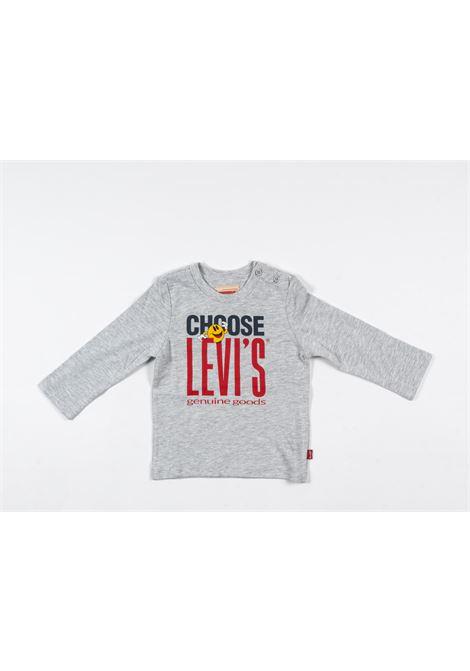 LEVIS | t-shirt long sleeve | LEV56GRIGIO