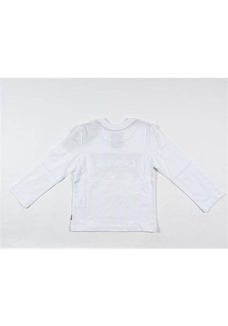 LEVIS | t-shirt long sleeve | LEV58BIANCO