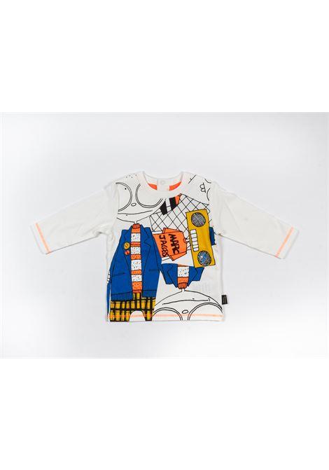 LITTLE MARC JACOBS | t-shirt long sleeve | LIT06BIANCO FANTASIA