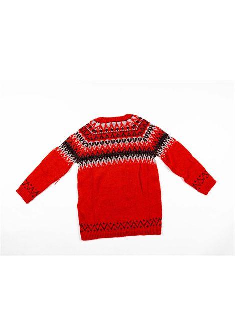 LIU-JO | wool sweater | LIU52ROSSO