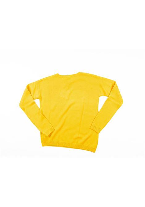 LIU-JO | wool sweater | LIU53GIALLO OCRA