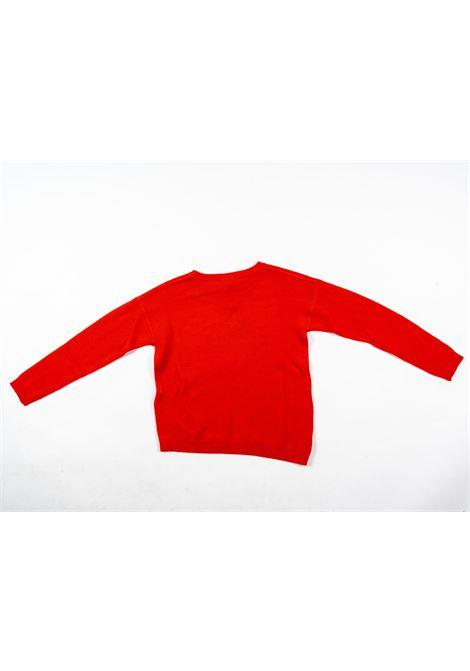 LIU-JO | wool sweater | LIU53ROSSO